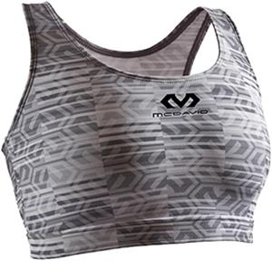 McDavid Womens Lined Racer Back Sports Bra