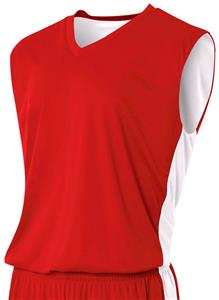 A4 Adult Reversible Moisture Mgmt Muscle Jerseys