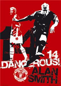CLOSEOUT-ALAN SMITH MAN U.Dangerous Soccer Posters