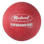 Markwort Red Playground Balls