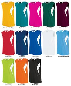 High 5 Bolt Sleeveless Softball Jerseys-Closeout