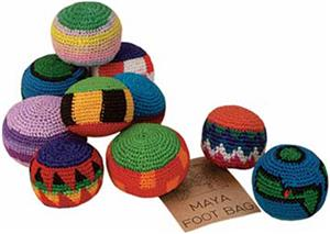 Maya Assorted Footbags