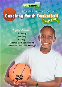 Coaching Youth Basketball ages 8-11 DVDs