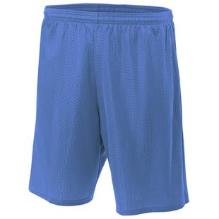 A4 Adult Lined Tricot Mesh Shorts