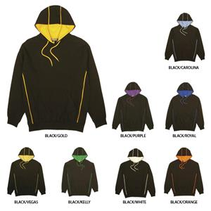 Pennant Premium Fleece Blackout Hoodies