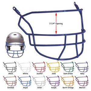 Schutt Softball Batting Helmet Face Guards-NOCSAE