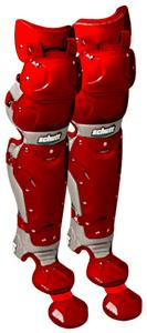 Schutt Scorpion Triple Flex Baseball Leg Guards