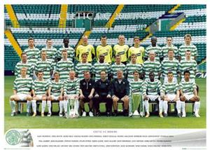 CLOSEOUT - Celtic Team & Players Soccer Posters