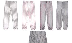 Fabnit ADULT Pinstriped Baseball Pants-Closeout