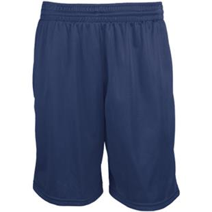 Teamwork Adult Pocketed Mini Mesh Shorts