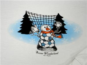 Soccer Wonderland (Long Slved) soccer tshirt