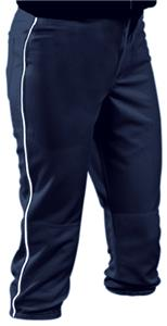 Teamwork Women/Girls Low Rise Piped Softball Pants