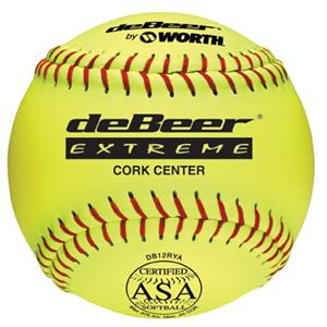 "deBeer 12"" ASA deBeer Extreme Leather Softballs"