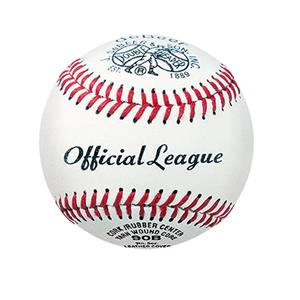 "deBeer 9"" Official League Leather Baseballs"
