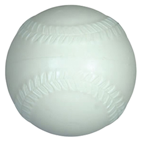 Tough Foam Machine White Baseballs CBB53W