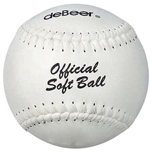 deBeer 14&quot; Specialty Flat Seam Softballs 6 pk