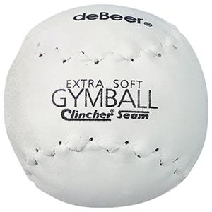 "deBeer 12"" Specialty White Soft Clincher Softballs"