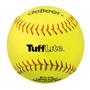 "deBeer 11"" Tufflite Synthetic Specialty Softballs"