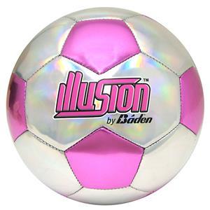 Baden Illusion Pink/Silver Soccer Balls Closeout