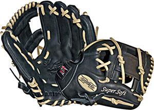"Miken Super Soft 11.5"" Baseball Glove MS115BB"