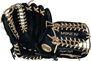 "Miken Super Soft 12.75"" Baseball Glove"
