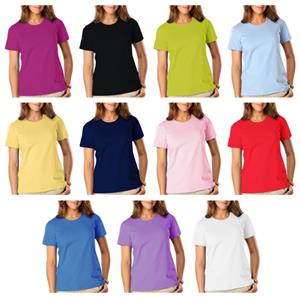 Blue Generation Ladies SS Jewelneck Tee Shirts