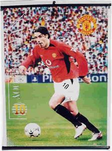 Vannistelrooy - Man. United Pager Soccer Posters