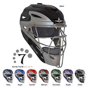 ALL-STAR MVP4000 Baseball Catcher's Helmets-NOCSAE