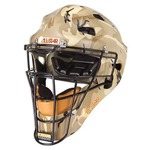 ALL-STAR MVP Military Camo Baseball Catcher Helmet
