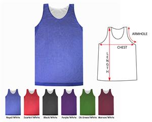 Fabnit Womens Reversible Mesh Basketball Jerseys