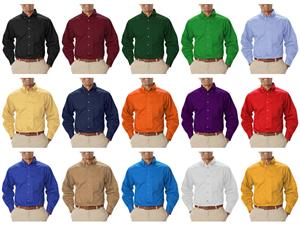 Blue Generation LS Teflon Treated Twill Shirts