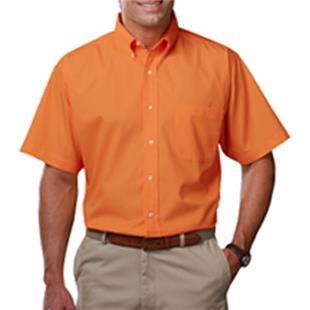 Blue Generation Mens SS Teflon Treated Twill Shirt