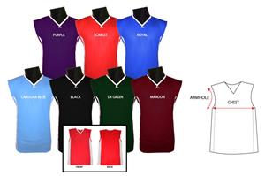 Fabnit Sleeveless Basketball Jerseys Closeout