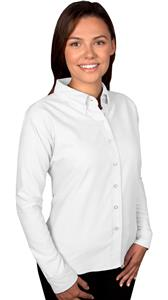 Blue Generation Ladies LS Classic Oxford Shirts