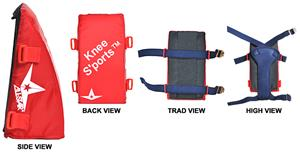 ALL-STAR Catcher KneeS'ports-NO Delta Flex Harness