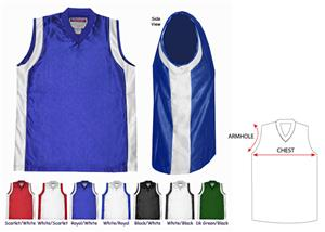 Fabnit Sleeveless Dazzle Athletic Jerseys- Husky