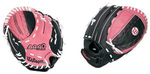 "10"" All Positions Fastpitch Pink Softball Gloves"