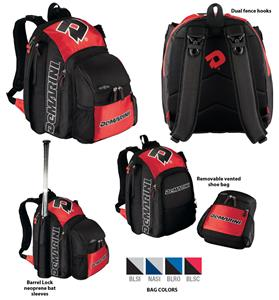 Demarini Voodoo Baseball Softball Backpack Bags