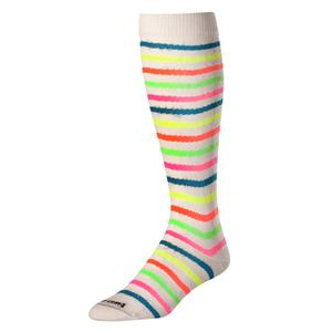 Twin City Krazisox Over Calf Neon Waves Socks