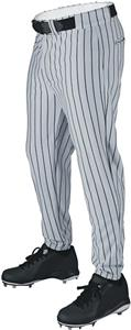 Deluxe Poly Knit Solid or Pinstripe Baseball Pants