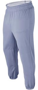 Basic Poly Double Knit Solid Baseball Pants 24""
