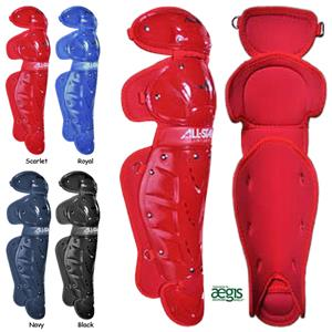 ALL-STAR LG Fast Pitch Series Softball Leg Guards