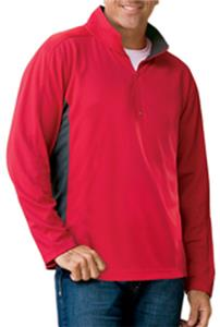 Blue Generation LS Half-Zip Wicking Pullovers