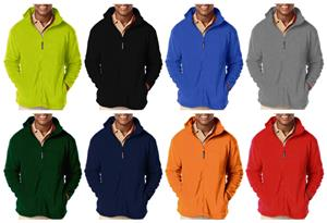 Blue Generation Men's Polar Fleece Jackets - Soccer Equipment and Gear