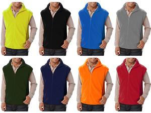 Blue Generation Adult Polar Fleece Vests
