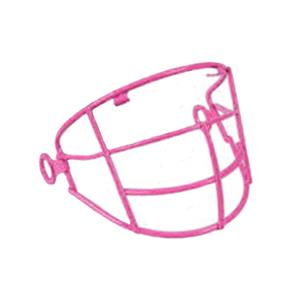 ALL-STAR Pink Batting Helmets Face Guards-NOCSAE