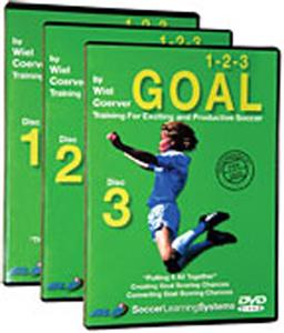 1-2-3 Goal (DVD)- soccer training videos