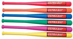 Champion Sports Baseball Ultra Bat Set (Set of 6)