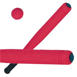 "Champion Sports 24"" Regular Size Foam Covered Bats"