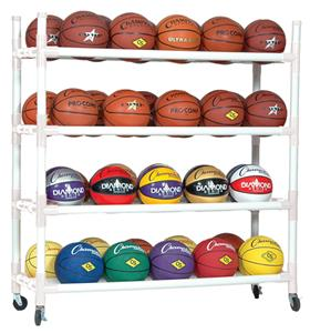 Champion Sports Heavy Duty Ball Carts